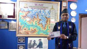 Regt. Commanded by Col. N.B.Saxena