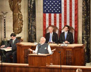 Prime Minister  Narendra Modi addressing