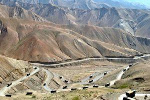 Mushkoh Valley, along the Marpo La ridgeline in Dras, in Kaksar near Kargil