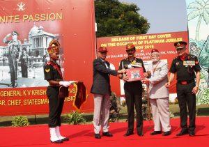 Release of Book Saga of Gen KV Krishna Rao