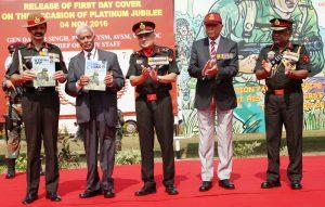 Release of comic on Maj Parmeswaran, PVC