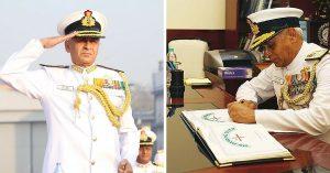 Admiral Sunil Lanba PVSM,AVSM,ADC Chief of the Naval staff