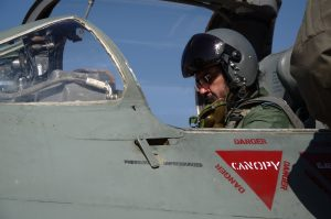 The Chief of the Air Staff, Air Chief Marshal BS Dhanoa flew MiG-21
