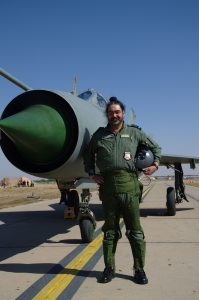 The Chief of the Air Staff, Air Chief Marshal BS Dhanoa flew MiG-21 Type-96 aircraft solo