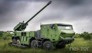 8x8 CAESAR artillery system to equip the Danish land forces