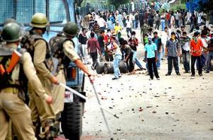 Stone Pelters in Kashmir