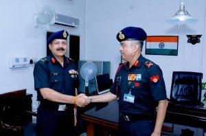 Maj Gen AP Bam hands-over the reins of ECHS to incoming MD, Maj Gen Ashok Kumar on 08 Jun.