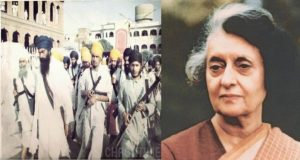 Ex PM Indira Gandhi who was killed by her pro Khalistan guards