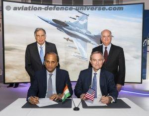Lockheed Martin, Tata Announce F-16 India Partnership Landmark agreement supports F-16 Block 70 'Make in India' offer