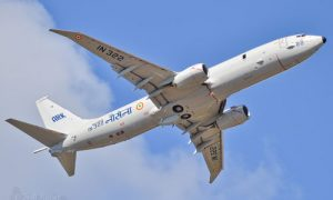 Boeing Wins Three-Year Contract to Support Indian Navy P-8I Fleet
