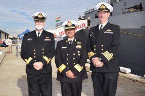 Indian Navy's Eastern Fleet Ships down under for AUSINDEX-17