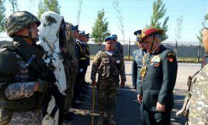 Gen Bipin Rawat visiting 36 Air Assault Brigade.