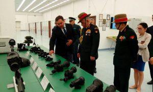 Gen Bipin Rawat visits Aselsan Engineering Defence Industrial Base.