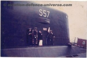 Indian Navy's submarine S57