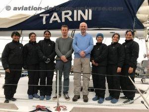 INSV Tarini entered Port Stanley