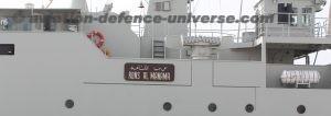Al Manama ship to Royal Bahrain Naval Force