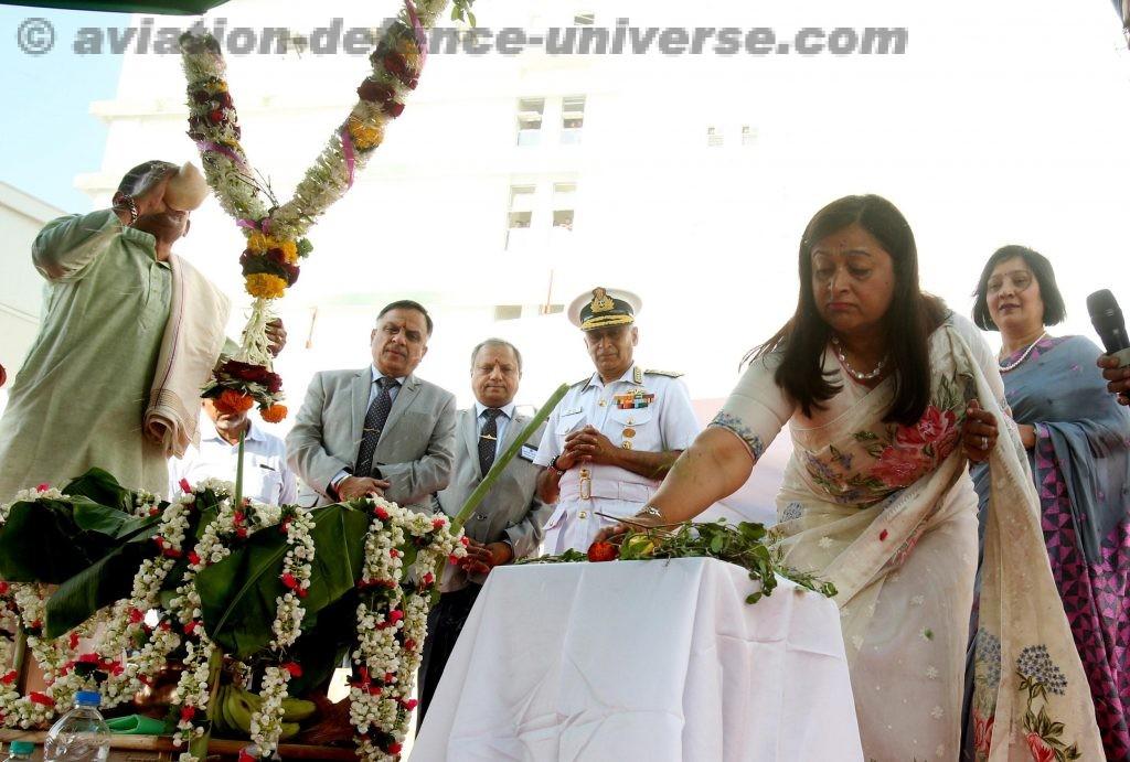 Mrs Reena Lanba, President Navy Wives Welfare Association