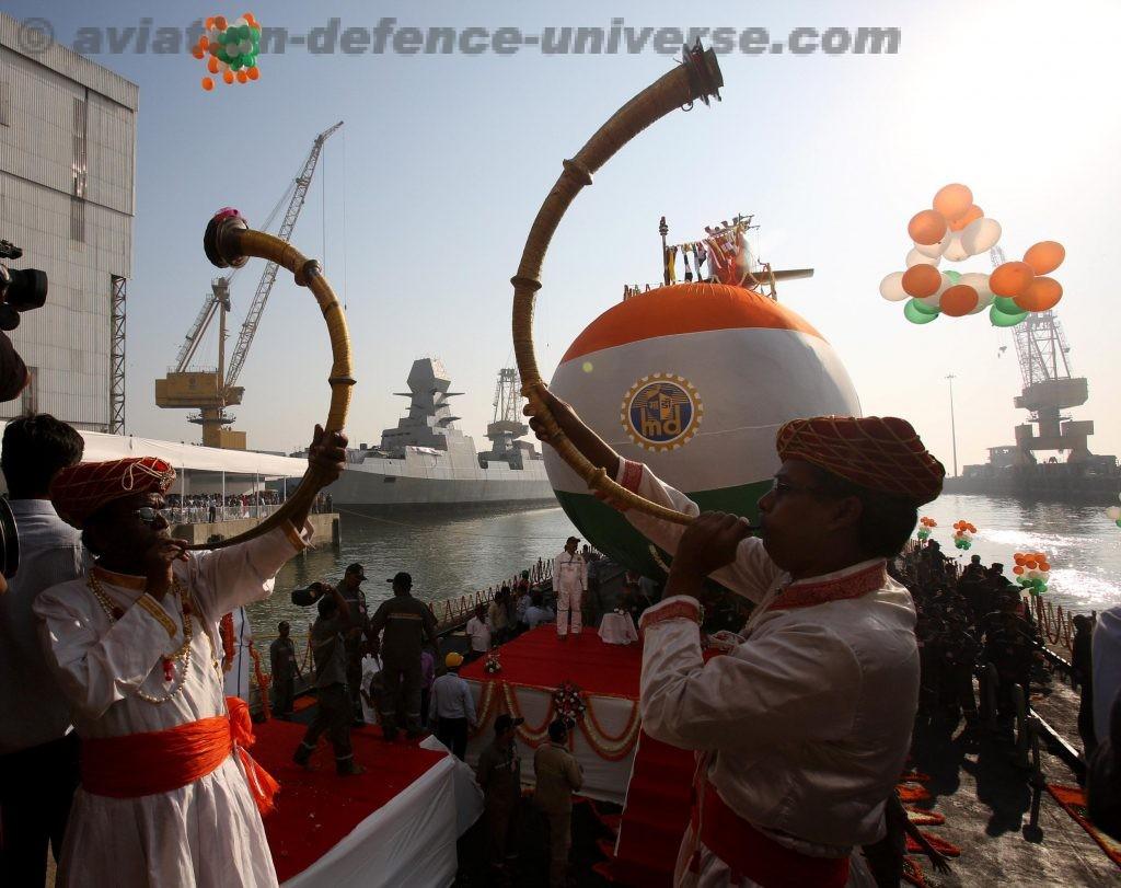 The submarine Mumbai Port Trust