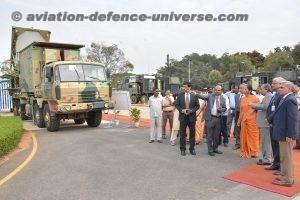 Defence Minister visits BEL
