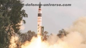 Agni-5 Ballistic Missile Successfully completes fifth flight test