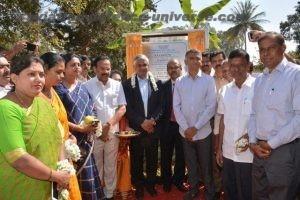 Ministers, BEL CMD, Mr M V Gowtama, Director (OU), BEL, Mr Nataraj Krishnappa