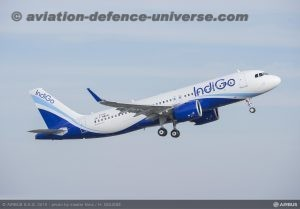 Air & Indigo A320Neos flying