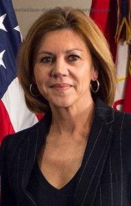 María Dolores de Cospedal  Defence Minister Spain