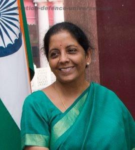 Nirmala Sitharaman  Defence Minister India