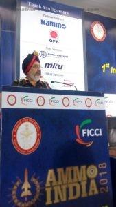 Lt. General, Giri Raj Singh, SM, Director General Ordnance Services, Indian Army