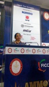 Defence Minister, Nirmala Sitharaman