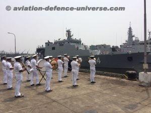 he Union of Myanmar Navy Ships