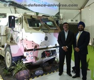 Mr. Amandeep Singh, Head – Defence, Ashok Leyland,