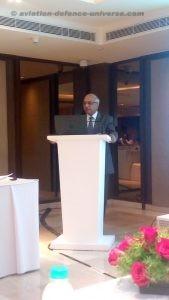 The former Chairman of HAL Dr RK Tyagi