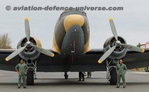 Dakota DC-3 aircraft