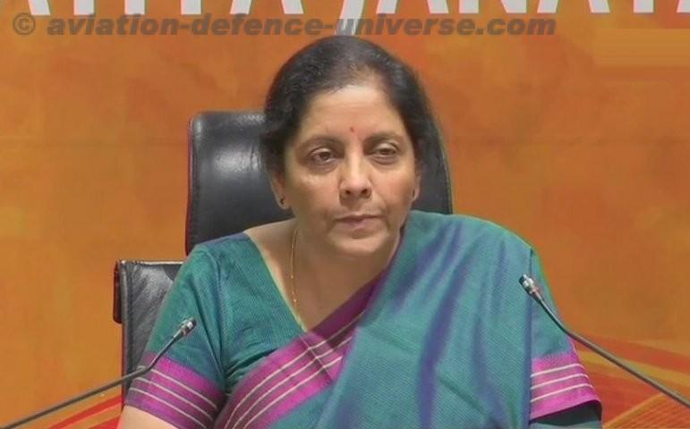 Minister of Defence Nirmala Sitharaman