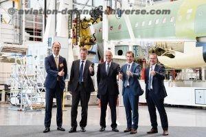 Airbus inaugurates Hamburg
