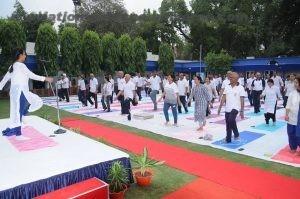 Coast Guard celebrate International Yoga Day 2018