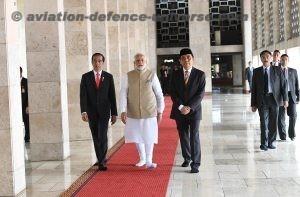 Mr. Joko Widodo visits Istiqlal Mosque, in Jakarta