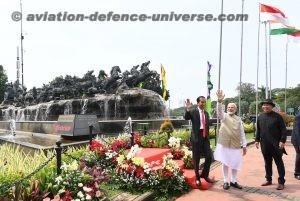 The Prime Minister, Shri Narendra Modi and the President of Indonesia,