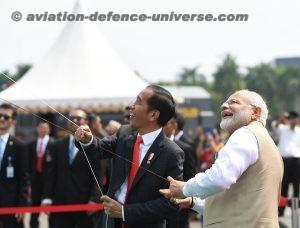 The Prime Minister, Shri Narendra Modi and the President of Indonesia