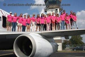 Inspiring young girls to become Women in Aviation