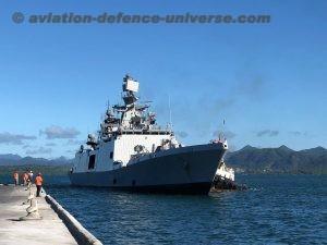 Indian Naval Ship (INS) Sahyadri