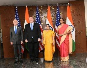 Sushma Swaraj and Nirmala Sitharaman