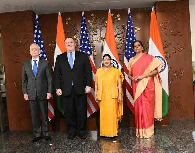India US sign COMCASA