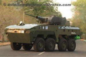 Indigenously Build Combat Vehicles