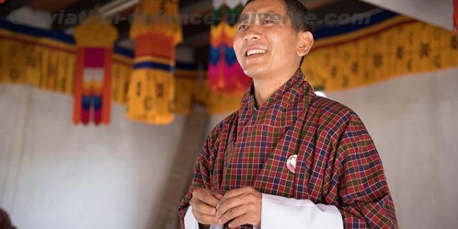 Dr. Lotay Tshering, President of Druk Nyamrup Tshogpa