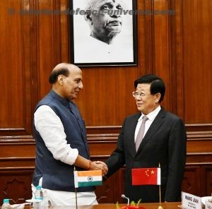 Indian Home Minister Rajnath Singh co-chaired the first India-China