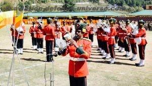 IMTRAT Band display at raising day