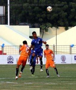 final match of Subroto Cup International Football Tournament-2018