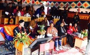 Princess of Bhutan attending the Raising Day of IMTRAT